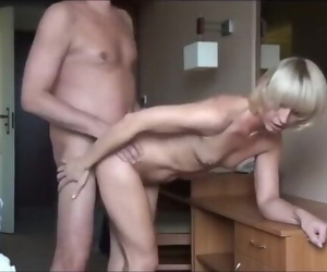 Fuck to Climax Inexperienced Norwegian Blonde Granny from..