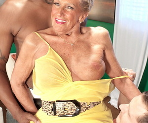 Age isnt an obstacle for Sandra Ann when it comes to..