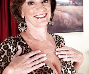 Granny Sydni Lane provides nakedness in her premium mature..