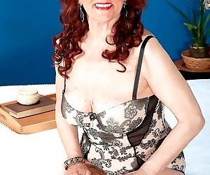 Redhead mother railing hard-on in hardcore action - part 8