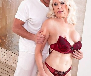 Blonde mature lady fucked in doggystyle - part 752