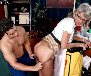 Aged teacher having hookup with younger paramour - part 2104
