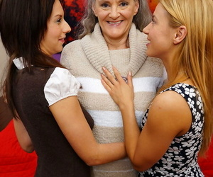 3 old and young lesbos gaving a ball - part 3516