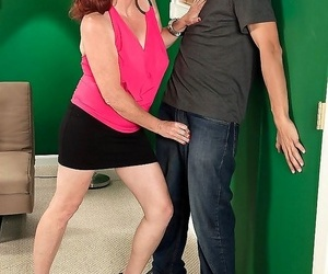Redhead mature shirley lily dancing and an ass-fucking -..