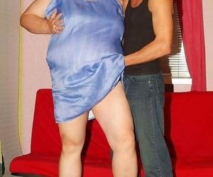 Wild mature plumper agnes eva undressing her clothes to..