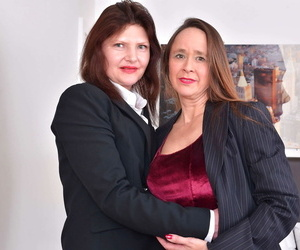 2 furry british housewives getting full lesbianjosie cee..