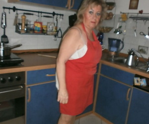 Promiscuous amateur housewife Caro could not fight back..