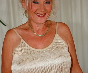 Obscene European granny named Ludmilla gets nailed by a..