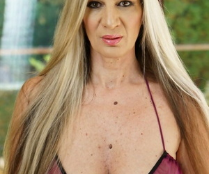 Mature chick with huge inborn breasts Conchita gets nailed..