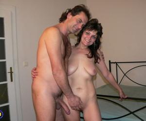 Naughty mature duo accomplish making a homemade porno in..