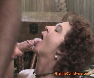 Real Home Vids of my Mouthwatering GRANNY