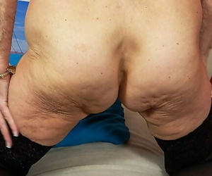 Skinny old Grandma very first Time Bare on Video