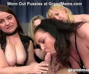 The Older, The Strapped at GrandMams 10 min 720p