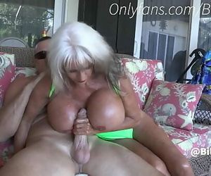 Granny Masturbates Off Son By Pool-Sally DAngelo 15 min..