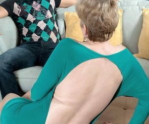 Blonde granny sindee dix pounding a 24 yr old dude - part..