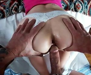 Uber-sexy Mummy Marie Tasty Creamy Doggystyle 9 min 1080p