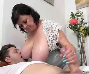 Pounding My Granny's Thick Tits – Ivana