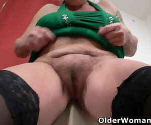 Aged girl still needs her occasional orgasm