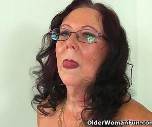 Does this British grandma still masturbate