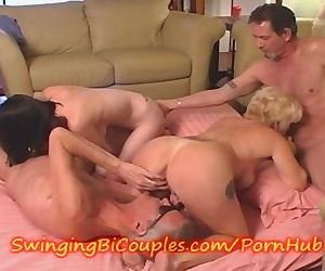 Young TEEN meets an OLD BI COUPLE