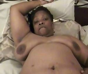BLACK GRANNY FACE FUCKED AND GETS HUGE FACIAL
