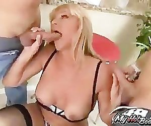 Kat Kleevage- One dick isnt enough to satisfy the lovely blond