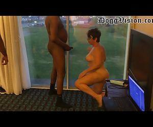 Cuckold Wife Services Bulls in Window