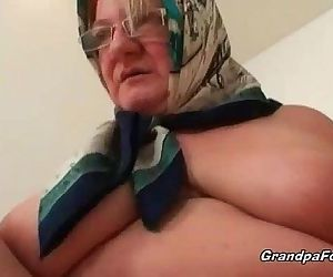 Fat mature blonde likes hardcore sex - 8 min