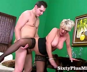 Blonde mature lady fuck expert - 6 min