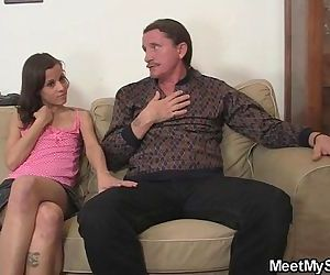 My slut involves my step parents into threesome fucking - 6 min