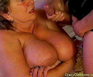 Crazy old mom fucked hard sex - 5 min