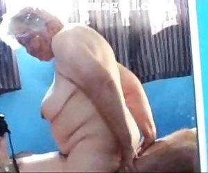 granny riding - 1 min 28 sec