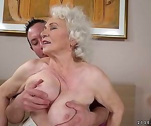 Still hot and kinky Norma wants a young dick 6 min HD