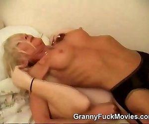 Old Horny Granny Fucking