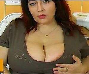 Fat bbw woman have sex with young man - 8 min HD