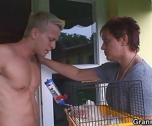Stallion bangs granny next door - 6 min