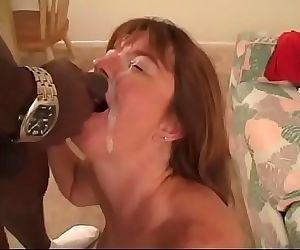 Black man hammers White woman Milf with bbc 20 min
