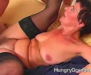 Hairy Granny Pussy Dicked - 6 min