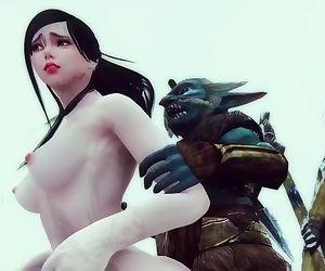 Monster Hentai - The Riekling Tribes Anger - Skyrim