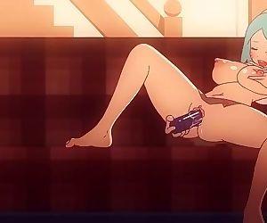 The Impressive World of Gumball Hentai Parody - Nicole Watterson wanking