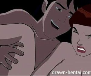 Ben Ten Hentai - Kevin bad again - 7 min