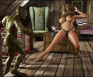 Savage Monster 3D - Lara Croft: Mirror Frenzy