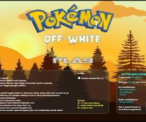Pokemon Off White GamePlay