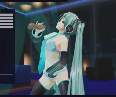 Vocaloid Hentai - Hatsune Miku pounds + anal