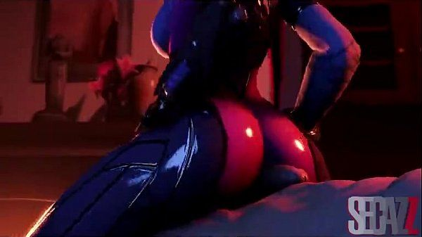 Widowmaker - Thick Breasts - Horny Machinima - 2 min