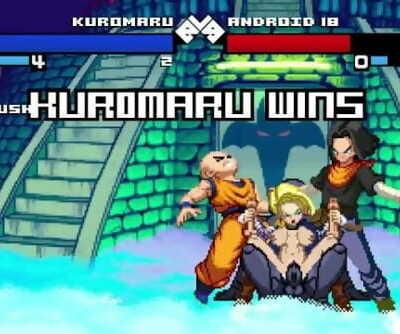 MUGEN Hentai Kuromaru vs Android Eighteen