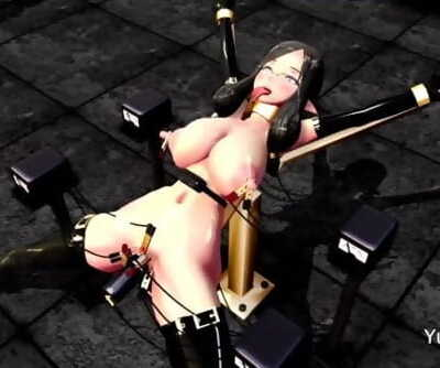 MMD Hook-up Punishment Teaching By Dungeon Mistress