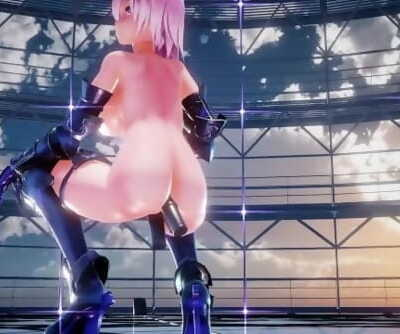 MMD Hook-up Fate Grand Order Mashu Kyrielight With Wands - Apple Pie