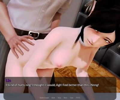 Harem Hotel - Lins first anal invasion experience