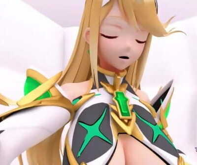 Switched - A Pyra/Mythra Growth Animation